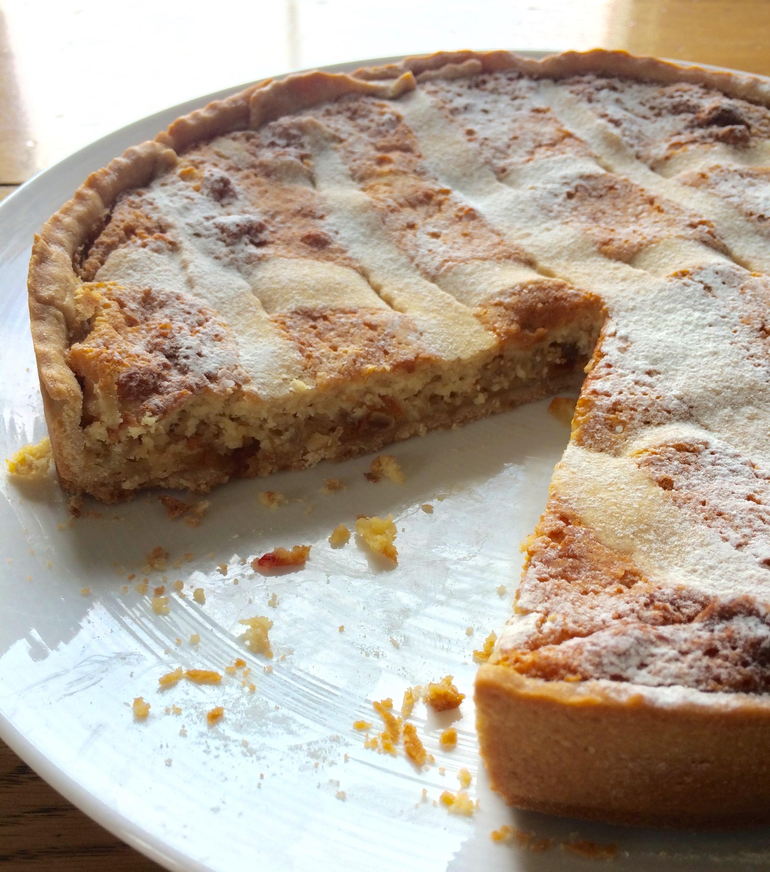 Italian Easter Ricotta Cake Recipe