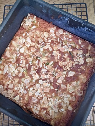 Bread Cake Courgette Banana