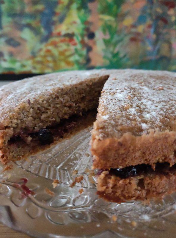 Torta di grano saraceno - buckwheat cake